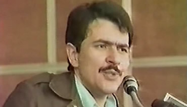 الأخ المجاهد مسعود رجوي بعد إطلاق سراحه من سجن الشاه