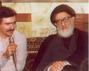 لقاء السید مسعود رجوي  مع آیة الله طالقانی