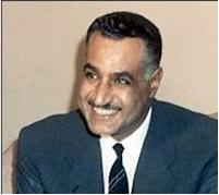 Egyptian late President Jamal Abdunnaser