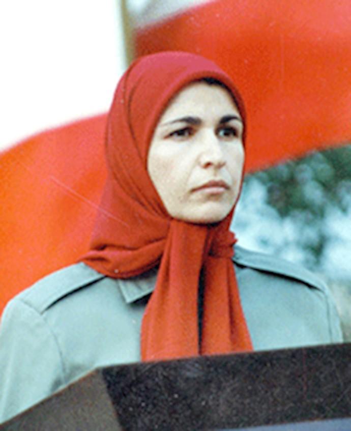 خواهر مجاهد مهری حاجی نژاد