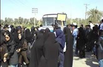 تظاهرات مردم در بوشهر - آرشیو
