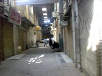 صحنه هایی از اعتصاب بازاریان اصفهان