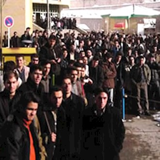 تجمع اعتراضی دانشجویان - آرشیو