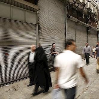 اعتصاب بازریان علیه  سیاستهای چپاولگرانه رژیم آخوندی ادامه دارد