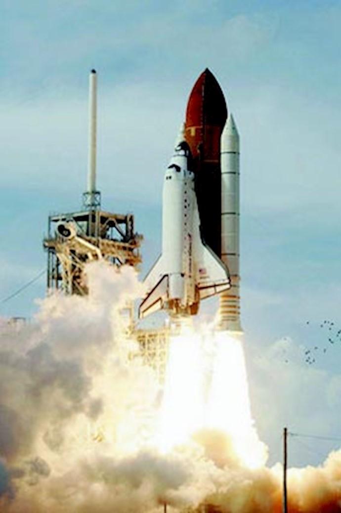 پرتاب شاتل به فضا