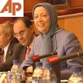مریم رجوی در پارلمان اروپا