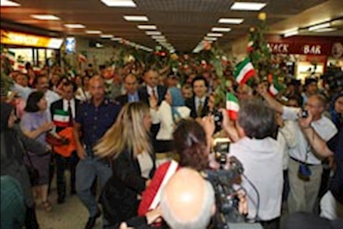 سفر رئیس جمهور مقاومت ایران به ایتالیا