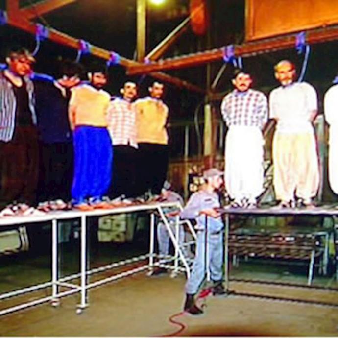 موج اعدام ها توسط رژیم آخوندی - آرشیو