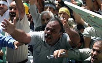 خشم و نفرت  کارگران از رژیم آخوندی
