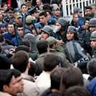 تجمع اعتراضی کارگران