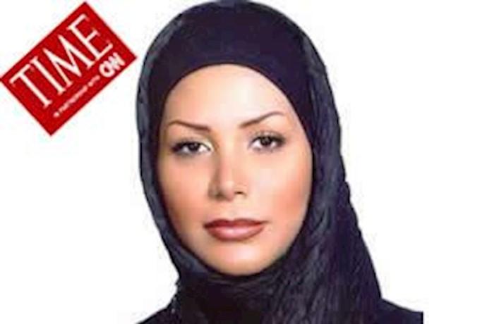 ندا, شهید ملی  قیام, بعنوان یکی  از قهرمانان 2009  برگزیده شد