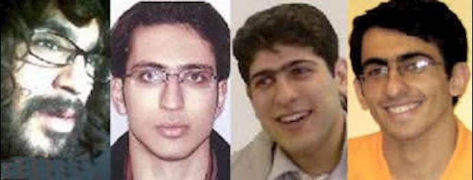 احمد قصابان، نریمان مصطفوی، مهدی مشایخی و عباس حکیم زاده