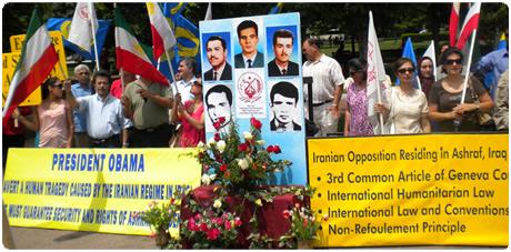 تظاهرات ایرانیان آزاده در آمریکا