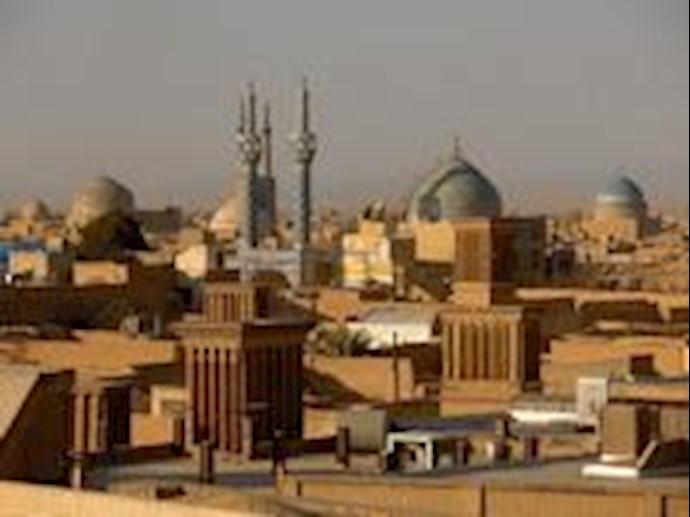 نمایی از شهر یزد