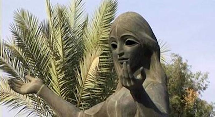 مجسمه شهرزاد قصهگو