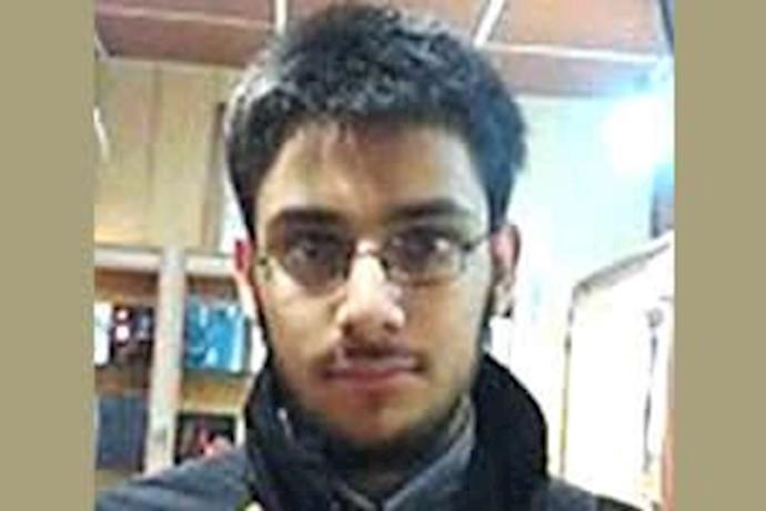 آرمان رضا خانی، دانشجوی زندانی