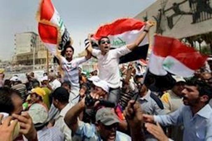 تظاهرات در میدان تحریر بغداد - آرشیو