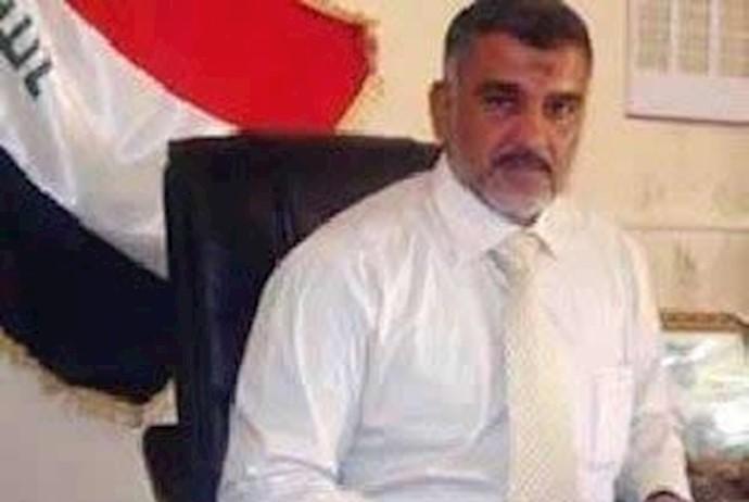 عدی  خدران مامور نیروی تروریستی قدس و فرماندار خالص