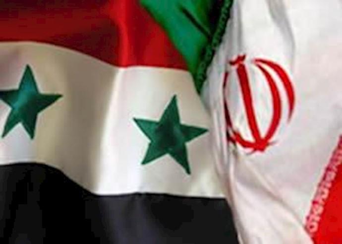 حمایت رژیم ایران از دیکتاتور سوریه