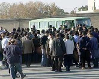 تجمع اعتراصی کارگران  - آرشیو