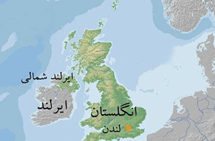 نقشه انگلستان