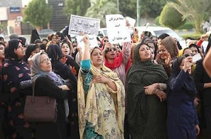 تظاهرات مردم بندرعباس - آرشیو