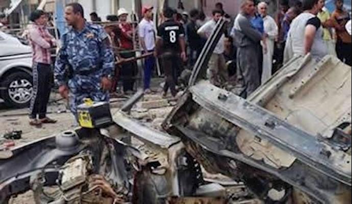 انفجار تروریستی دربغداد- آرشیو
