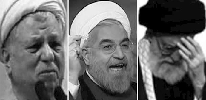 خامنهای، حسن روحانی، رفسنجانی