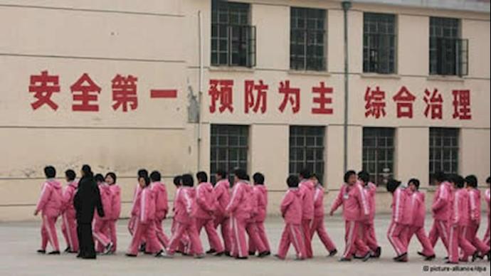 اردوگاه كار اجباري در چين