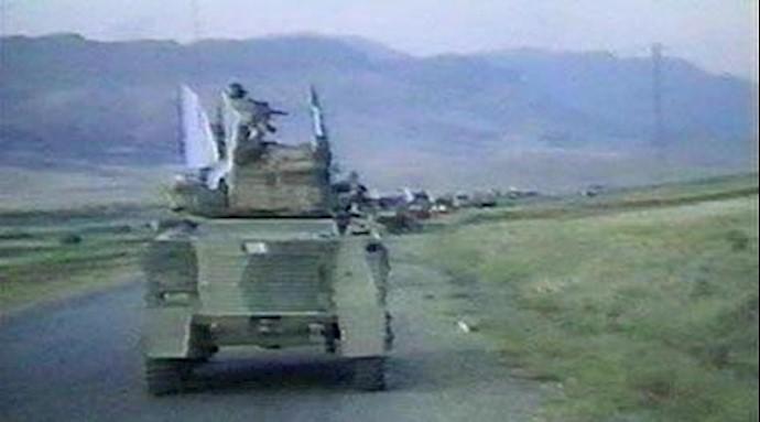 ستون یکانهای ارتش آزادیبخش در عملیات کبیر فروغ جاویدان