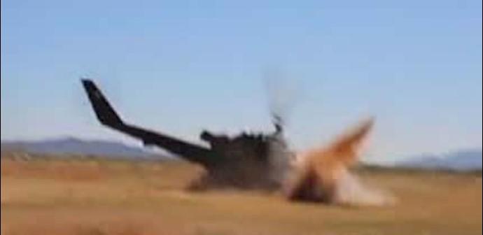 سقوط هلیکوپتر ارتش مالکی در استان الانبار و کشته شدن چهار سرنشین آن