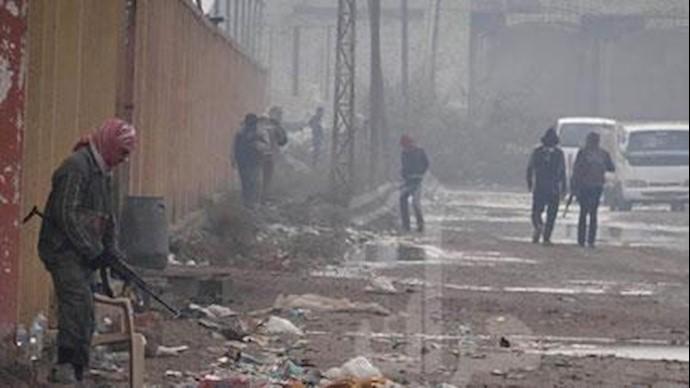 نیروهای عشایر در گرمه عراق