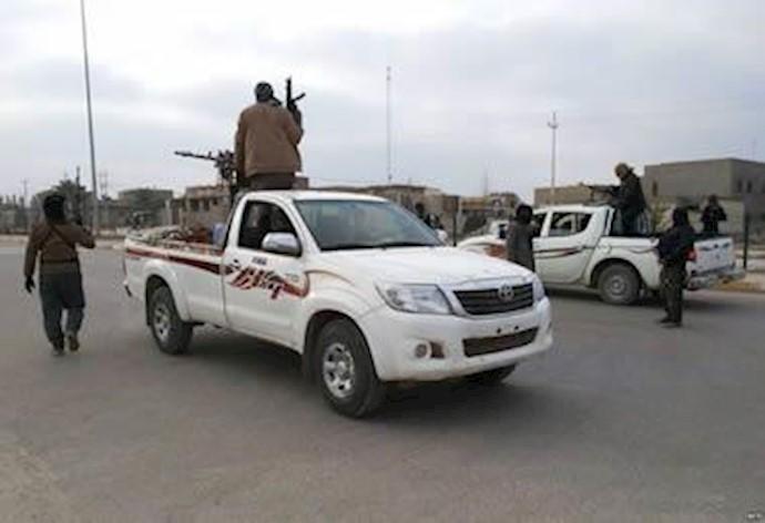 رزمندگان عشایر در فلوجه عراق