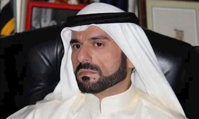 شیخ علی حاتم امیر قبلیه دلیم در عراق