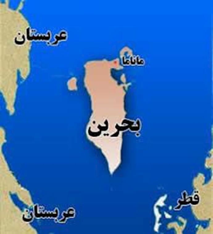نقشه بحرین