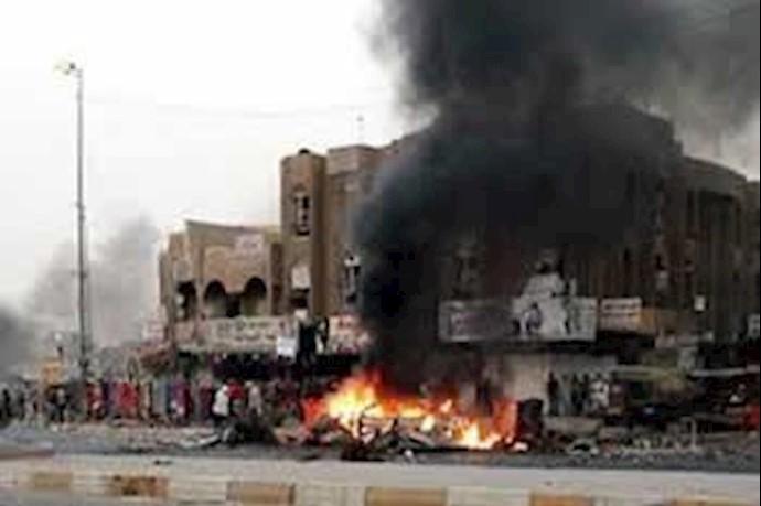 انفجار خودرو بمب گذاری شده در بغداد-آرشیو
