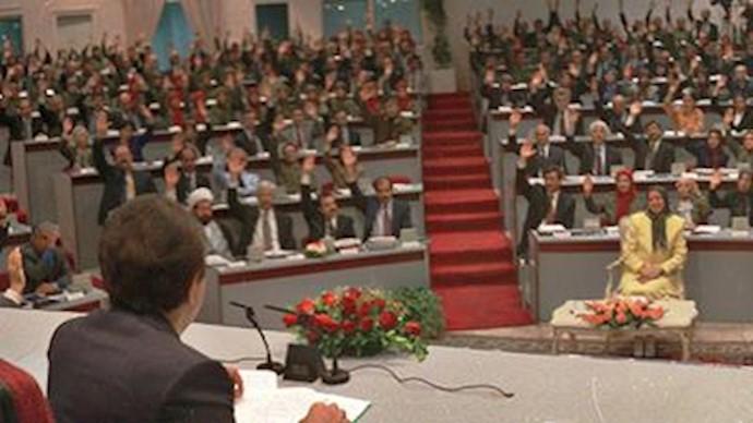 اجلاس شورای ملی مقاومت در بغداد