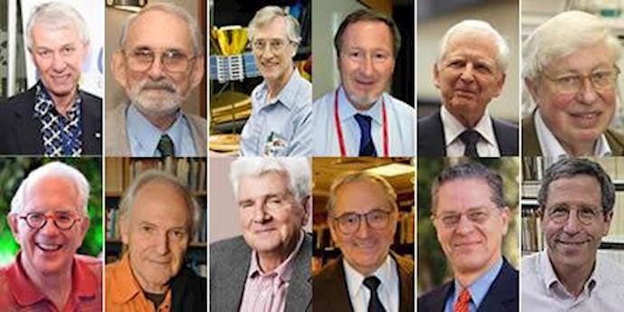 12تن از برندگان جایزه نوبل، شخصیتهای برجسته علمی جهان