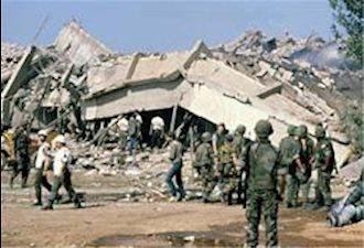 انفجار سفارت آمریکا در بیروت