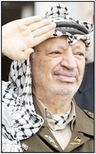 یاسر عرفات رهبر تاریخی مردم فلسطین