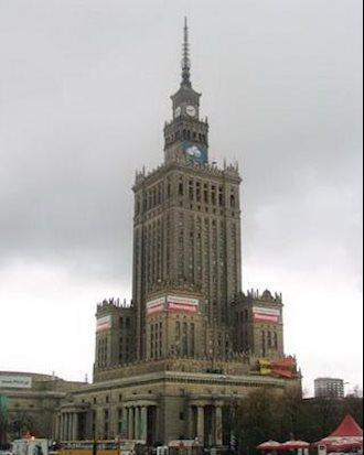 تصویری از ورشو  پایتخت لهستان