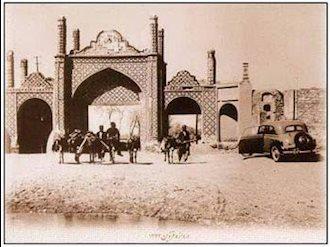 دروازه قزوین در سال 1224