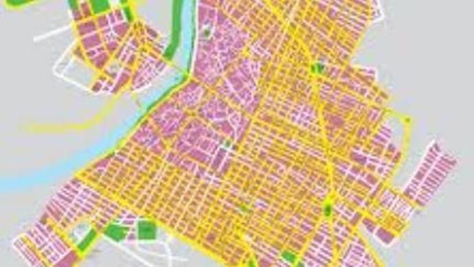 نقشه شهر دزفول