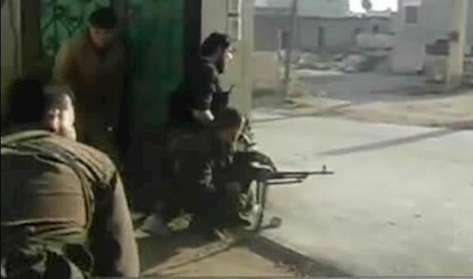عملیات ارتش آزادی سوریه در شرق حما-آرشیو