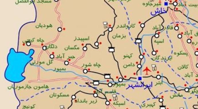 نقشه ایرانشهر