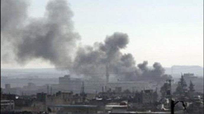 بمباران شهر فلوجه عراق-آرشیو