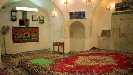 نمایی از خانه حضرت علی علیها السلام