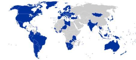 کشورهای دموکراسی آزاد بر طبق آرای عمومی مردم