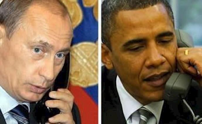 تماس تلفنی اوباما و پوتین