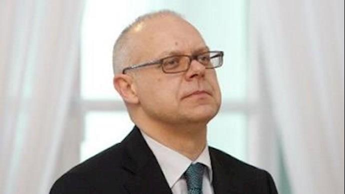 رناتاس نورکوس سفیر لیتوانی در روسیه